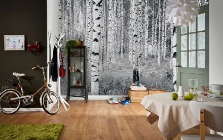 High Quality non-woven wallpaper Woods